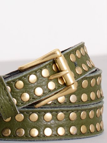 Studded Belt Militar green - ACV0012156003B159