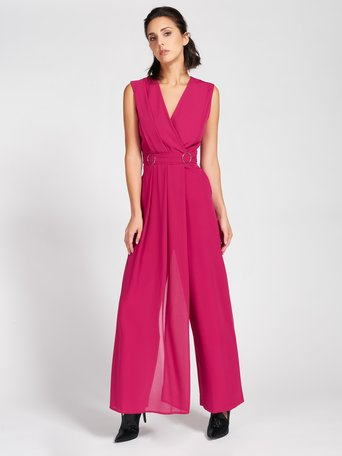 Panel Jumpsuit Cyclamen violet - CFC0093995003B365