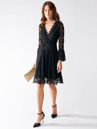Short Lace Dress Black - CFC0095977003B001