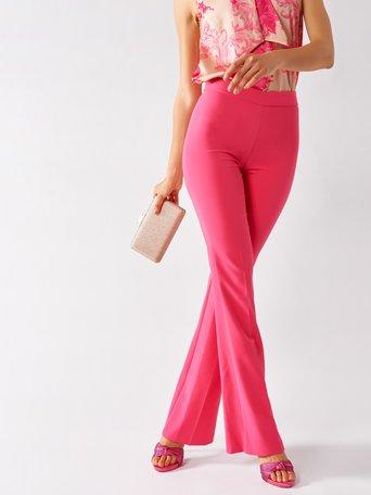 Pantalones Acampanados Fuxia - CFC0097495003B238