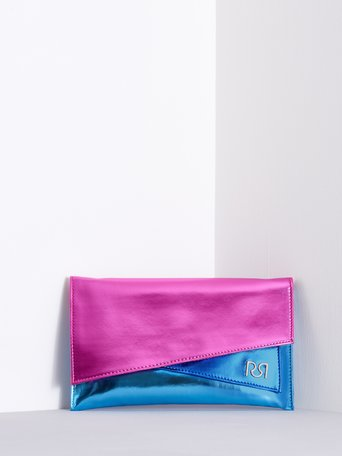 Laminated Clutch Bag fuxia - ACV0012429003B238