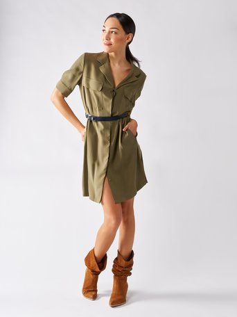 Dress Militar green - CFC0096891003B159