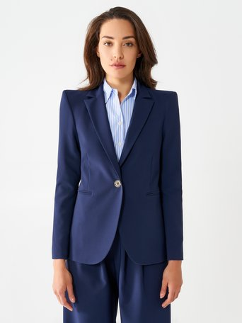 Flared Blazer Blue - CFC0097484003B041