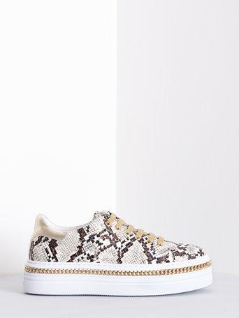 Sneakers Animalier Beige - CAL0006076003B101