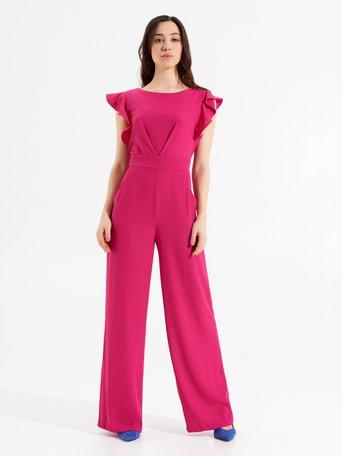 Combinaison-pantalon Palazzo Fuxia - CFC0096725003B238