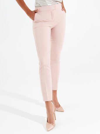 Pantalon Cigarette Rose - CFC0097455003B221