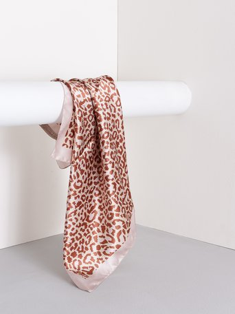 Animal-Print-Schal var.Rose - ACV0012441003B476