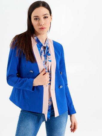 Jacke / Mantel var.China blau - CFC0097445003B442