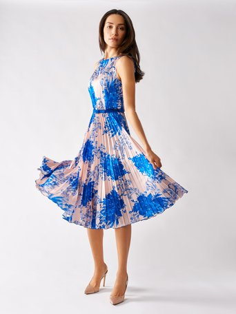 Dress var blue china - CFC0097470003B442
