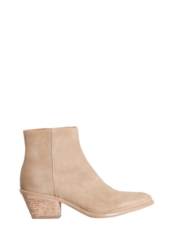 Suede Ankle Boots Grey - CAL0006029003B241