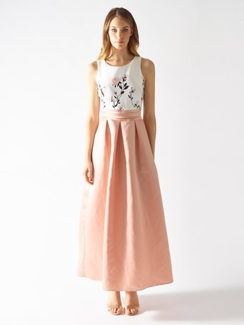 Long Two-Piece Effect Dress var. Pink - CFC0097179003B476