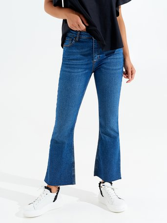 Cropped Jeans Blue - CFC0096861003B041