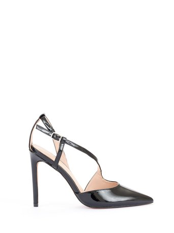 Patent leather court shoes Black - CAL0006015003B001