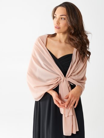 Stola in Georgette Rosa - ACV0012508003B221