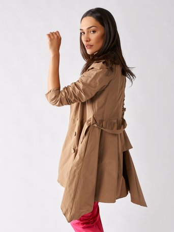 Trench-coat Beige - CFC0096936003B101