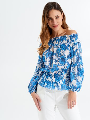 Shirt / Blouse var. Turchese - CFC0017297002B429