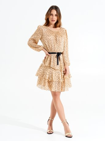 Dress var beige - CFC0017285002B430