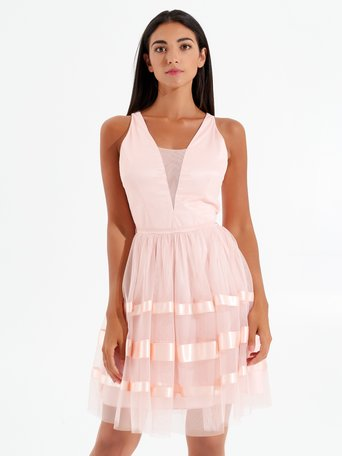 Short sorbet dress Pink - CFC0098160003B221