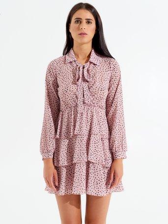 Short Polka Dot Dress var. Pink - CFC0098377003B476