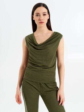Top / T-shirt Militar green - CFC0098916003B159