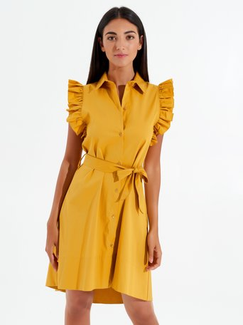 Dress Ocra yellow - CFC0017351002B176