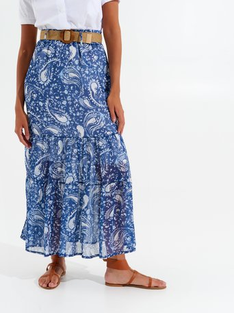 Skirt var blue - CFC0098755003B440