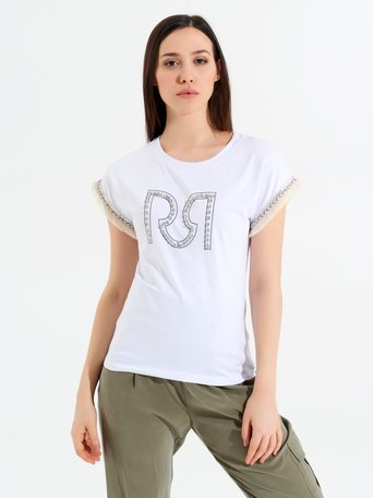Top / T-shirt White - CFM0009766003B021