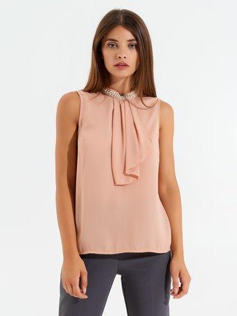 Camiseta / Top Rosa Cipria - CFC0017450002B385