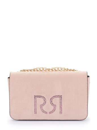 Clutch with shoulder strap Rosa Cipria - ACV0012747003B385
