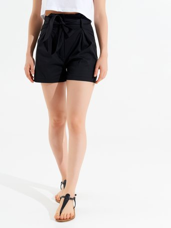 Cotton Shorts Black - CFC0017465002B001