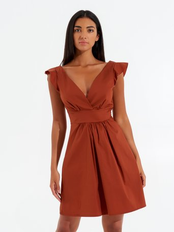 Dress orange rust - CFC0017469002B372