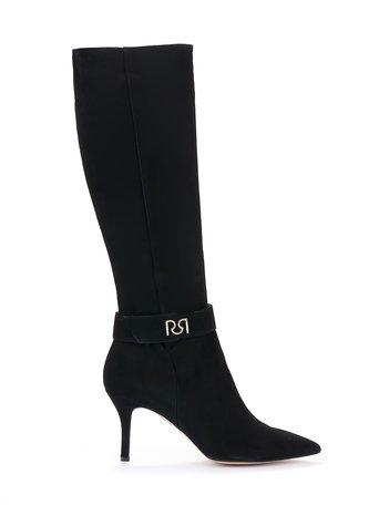 High monogram boots Black - CAL0006171003B001