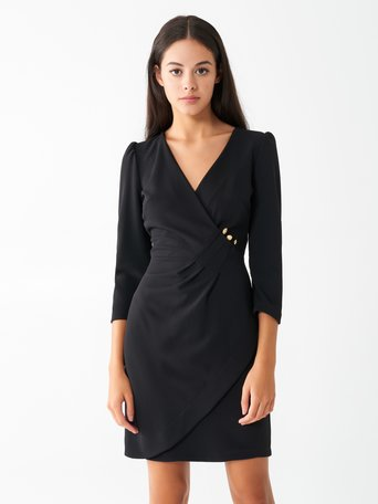 Crossover dress Black - CFC0017451002B001