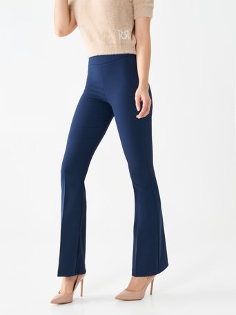 Flared suit trousers Blue - CFC0099906003B041