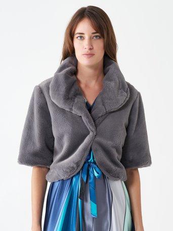 Faux fur bolero Grey - CFC0099931003B241