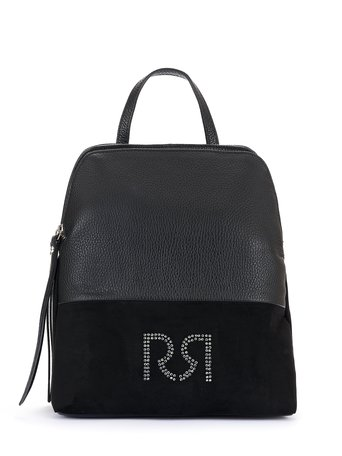 Backpack with Monogram Black - ACV0012739003B001