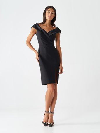 Diva sheath dress Black - CFC0017488002B001