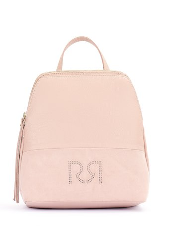 Backpack with Monogram Rosa Cipria - ACV0012739003B385