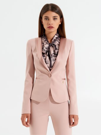 Fitted blazer Pink - CFC0099976003B221