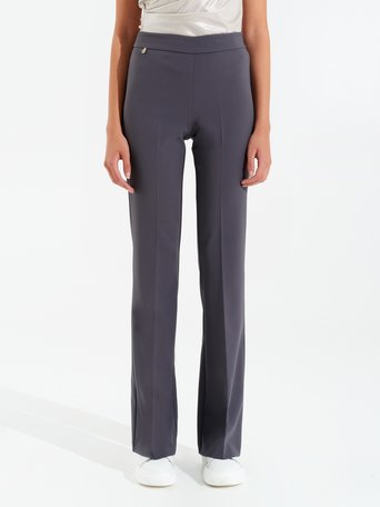 Flared suit trousers Grey - CFC0099906003B241
