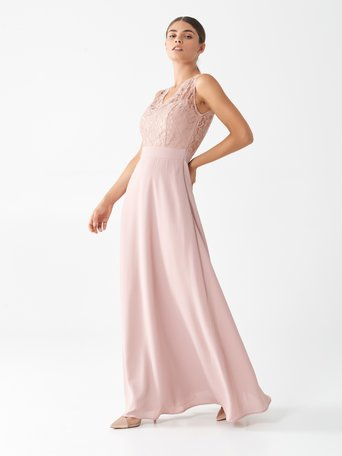 Long Antoinette dress Pink - CFC0100594003B221