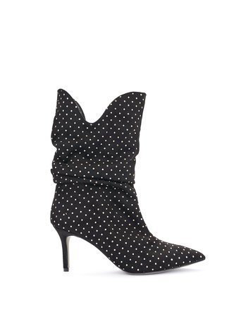 Ankle boots with studs Black - CAL0006206003B001