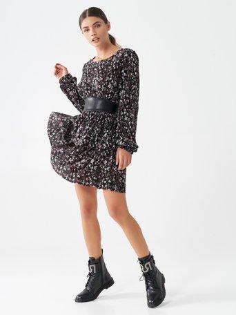 Short dress with frills var. Pink - CFC0100614003B476