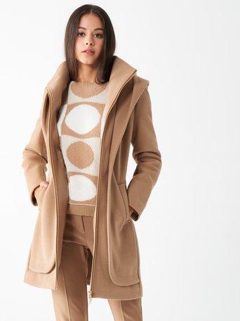 Jacket / Coat Camel Beige - CFC0100902003B117