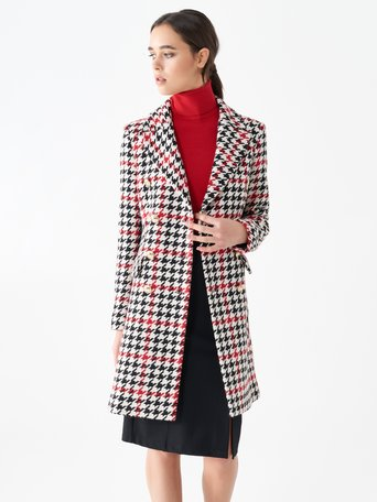 Jacket / Coat var Red - CFC0101175003B488