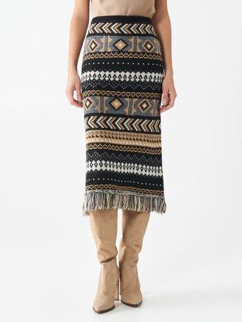 Skirt var black - CFM0010078003B473