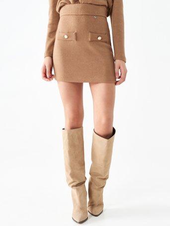 Skirt Beige - CFC0101655003B101