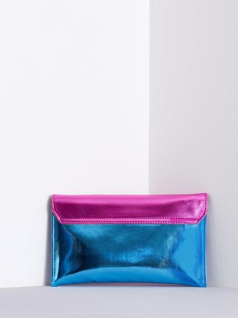 Laminated Clutch Bag fuxia - ACV0012429003B238