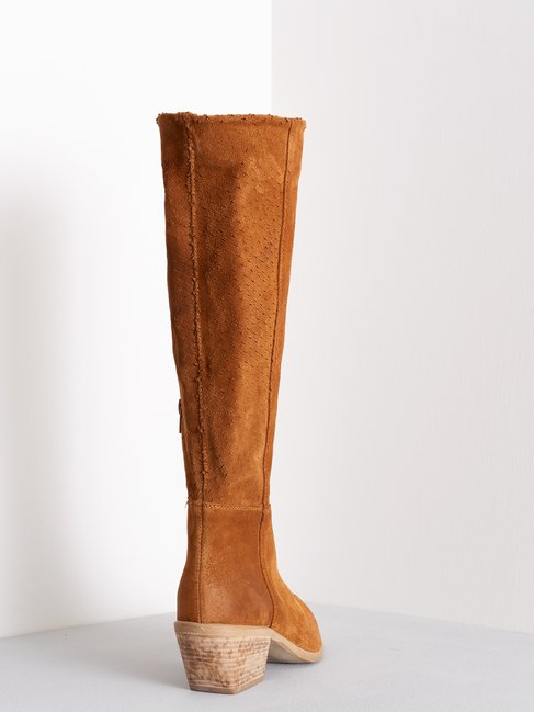 Openwork >Boots brown - CAL0006031003B402