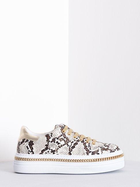 Animalier Sneakers Beige - CAL0006076003B101